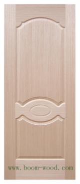 China Mouldings, Profiled Timber - Oak Veneered HDF Door Skin Panels, 3 mm