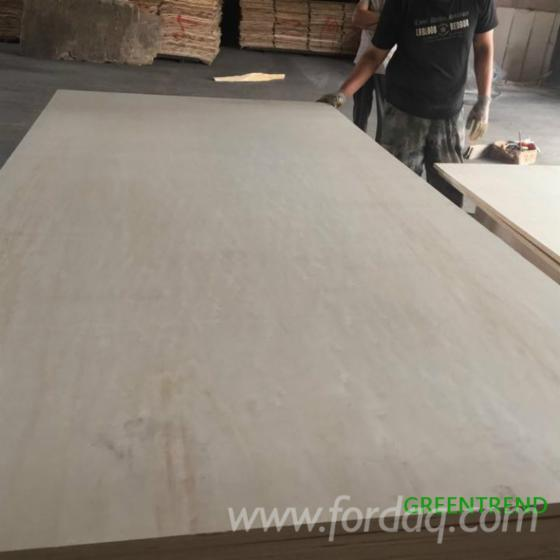 Poplar Core Plywood E1 Glue