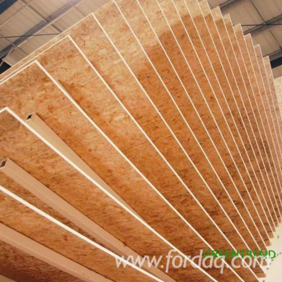 OSB 3 Panels for Construction, 6-22 mm thick