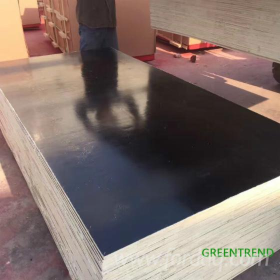 Poplar Black Film Faced Plywood For Construction