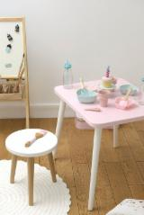 Oak Children's Room - Oak / Beech / Birch Kids Table Set