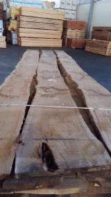 Hardwood  Unedged Timber - Flitches - Boules - Oak Loose