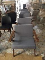White Ash Living Room Furniture - Brown / White Ash Living Room Chairs