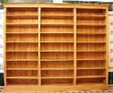 Bookcase Living Room Furniture - Common Black And Grey Alder/ Oak Bookcase