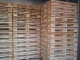 null - New Spruce Euro Pallet, 145 x 800 x 1200 mm
