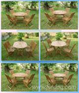 Garden Furniture For Sale - DIY Acacia Garden Set