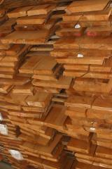 Laubholz  Blockware, Unbesäumtes Holz - Schnittholz ged. Buche