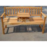 Garden Furniture - Acacia Pop - Up Table Bench