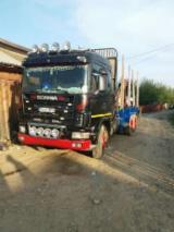 null - Kamion Za Prevoz Dužih Stabala Scania Polovna 2003 Rumunija