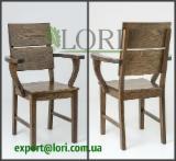 Дубове крісло НІНА
