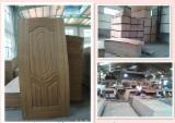 Buy Or Sell Wood African Hardwood - HDF Natural Teak Door Skin