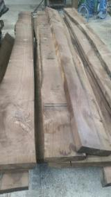Hardwood  Unedged Timber - Flitches - Boules For Sale - Unedged Loose American Walnut, B Grade, Steamed, KD