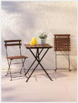 Furniture and Garden Products - Garden Set Including Chairs and Table - Wood Furniture