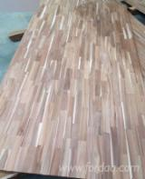Kenar Yapıştırılmış Ahşap Paneller – Fordaq'a Ücretsiz Kaydolun - 1 Ply Solid Wood Panel, Akasya