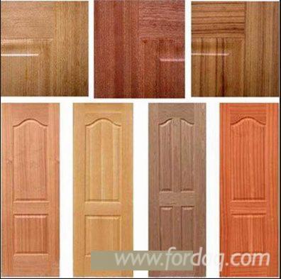 Red-Oak-HDF-Molded-Door