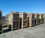 薪材、木质颗粒及木废料 - 劈切薪材 – 未劈切 碳材/开裂原木 桦木, 鹅耳枥, 橡木