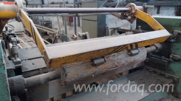 Used-1990-JUSAN-Veneer-Peeling-Line-1600mm-with-Log-Transport