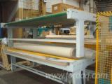 ORMA PCC Automatically Fed Press for Veneering Flat Surfaces, 3100 x 1600 mm
