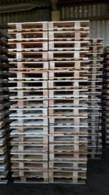 Pallets and Packaging  - Fordaq Online market - Beech New Half Pallets