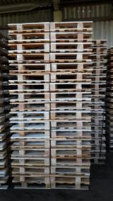 Paletten - Verpackung Gesuche - Halbe Ladepalette, Neu