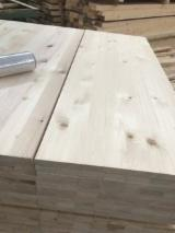 Edge Glued Panels For Sale - Spruce Panels, Continuous Stave / FJ, 18+ mm thick