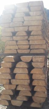 Unedged Softwood Timber - Spruce Boules, Fresh Sawn, 20+ mm thick