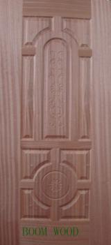 Buy Or Sell Wood African Hardwood - Mahogany Veneered Door Skin, 3 mm thick