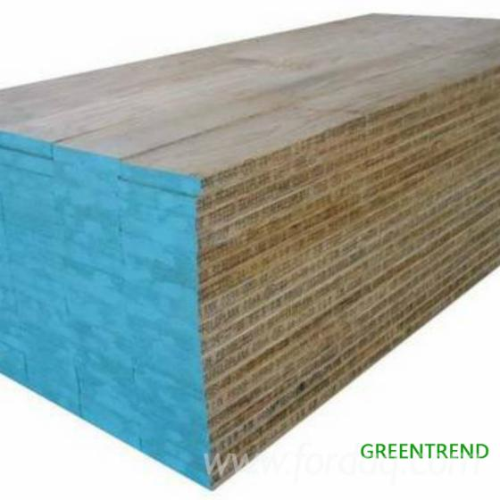 Radiata pine lvl beam plywood for construction plank