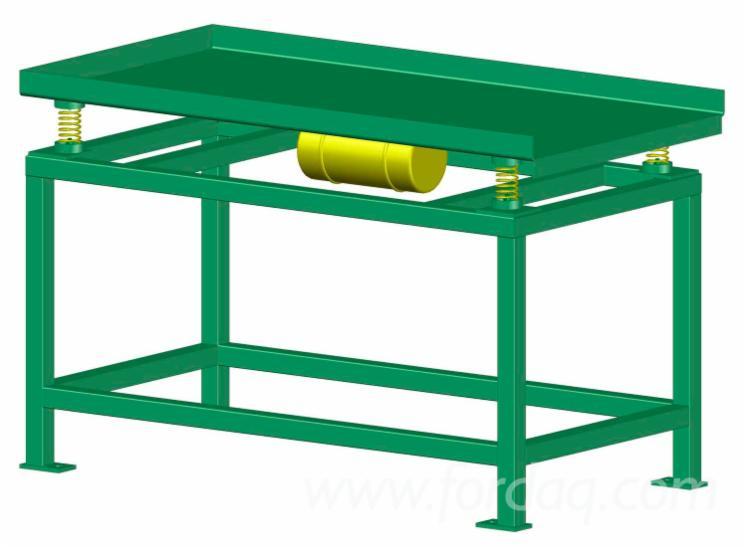 Maquina para fabricacion tacos aglomerados para palets - Mesa para fabricar palets ...