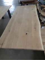 Oak Wood Components - Solid Wood Oak Table Tops and Furniture Tops