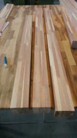 null - 1 Schicht Massivholzplatten, Robinie