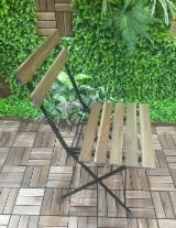 Meubles De Jarden Vietnam - Vend Ensemble De Jardin Design Feuillus Européens Acacia
