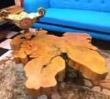 Buy And Sell Wood Components - Register For Free On Fordaq - Saman Edged Table Tops
