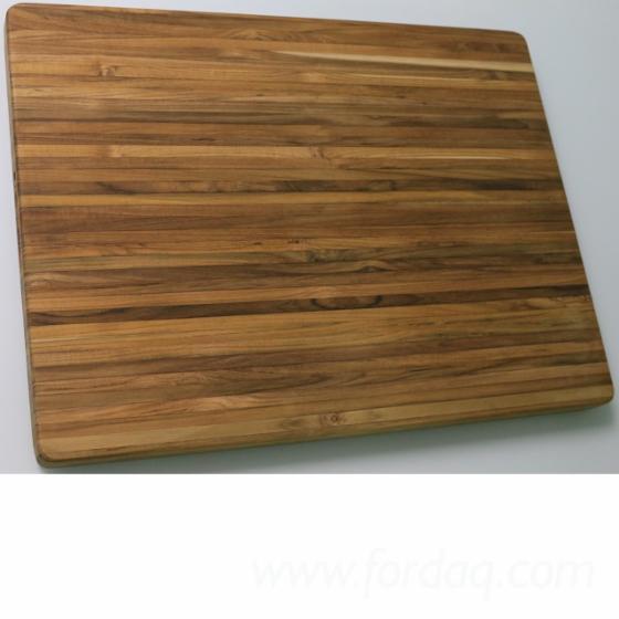 Teak Large Cutting Board Table