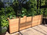 Produkty Do Ogrodu Na Sprzedaż - Donice drewniane z drewna robinii akacjowej