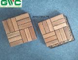 Vietnam Exterior Decking - Brown Acacia Decking Tiles c/w Plastic Base