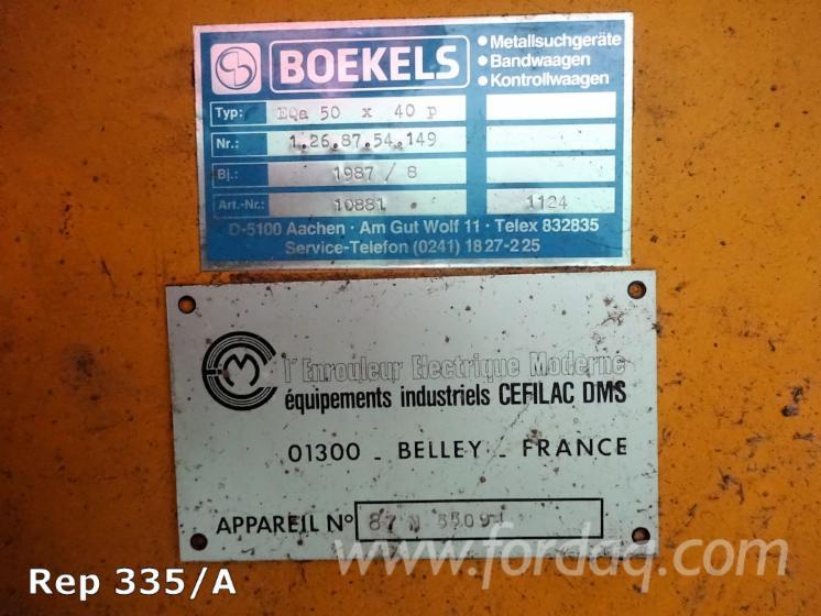 Gebraucht BOEKELS EQa 50 X 40 P 1987 Metalldetektor Zu Verkaufen Frankreich