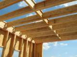 Softwood  Glulam - Finger Jointed Studs For Sale - Pine / Spruce I-Joists, 45 mm thick
