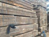 Railway Sleepers Sawn Timber - Used Azobe Railway Sleepers