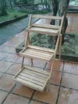 Buy Or Sell Wood Flower Pot - Planter - FSC KD Acacia Flower Planter