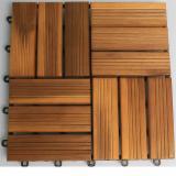 Acacia Anti-Slip Decking Tiles