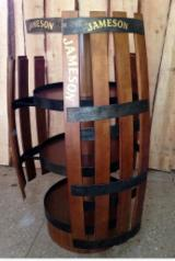 Mobiliario De Contrato en venta - Venta Almacenamiento De Tienda Diseño Madera Blanda Europea Pino Silvestre (Pinus Sylvestris) - Madera Roja Ucrania
