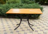Contract Furniture For Sale - Pine and Metal Restaurant Tables