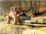 Forstlichen Dienstleistungen - Holzrückung, Rumänien