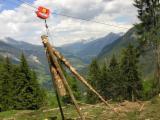 Holzrückung, Rumänien
