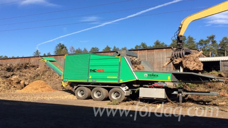 Used-Terex-Ecotec-THC-465-Root-Chipper-2015-Chippers-And-Chipping-Mills-For-Sale