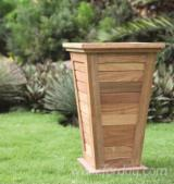 Buy Or Sell Wood Flower Pot - Planter - Bangkirai Flower Pots