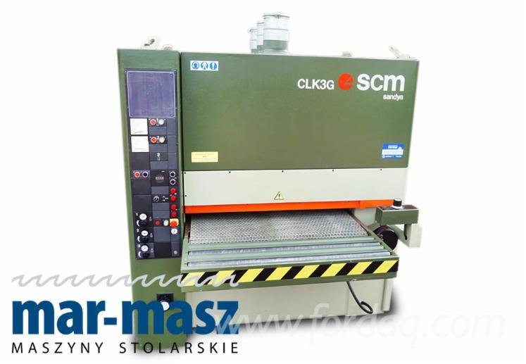 Used-SCM-CLK-3G-Wide-Belt-Sander--Grinder