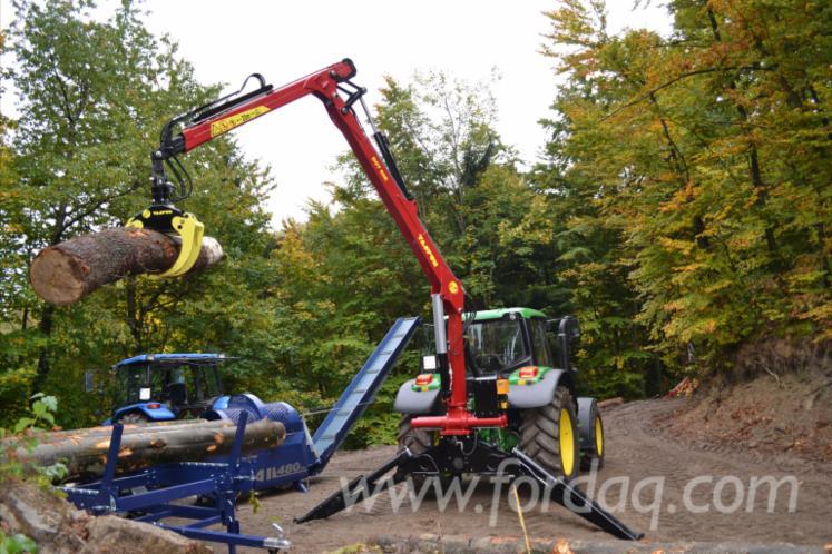 Tajfun Hydraulic tractor crane DOT 50