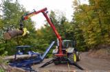 Лесозаготовительная Техника - Mанипулятор для трактора Тайфун DOT 50K